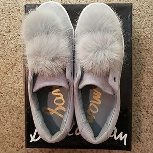 Sam Edelman Pom Pom slip on sneakers